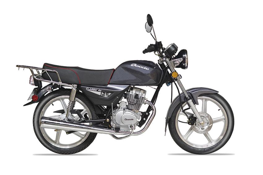 Baccio CLASSIC 125 F - Delcar