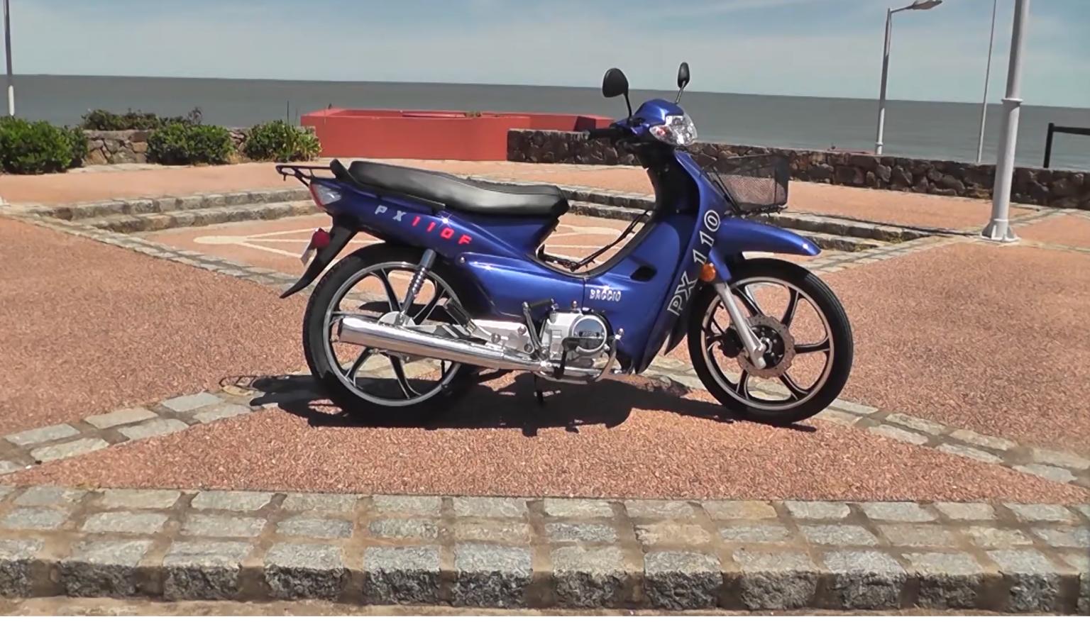 Moto Baccio PX 110 F